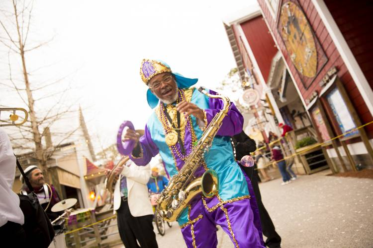 Fat Tuesday, the day before Ash Wednesday celebration Destin Golf & beach resort have travel memories vacations