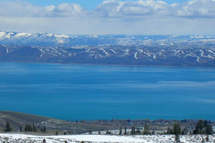 Bear Lake Idaho - Close to Home and a Post Card Away By JoDell Haverfield